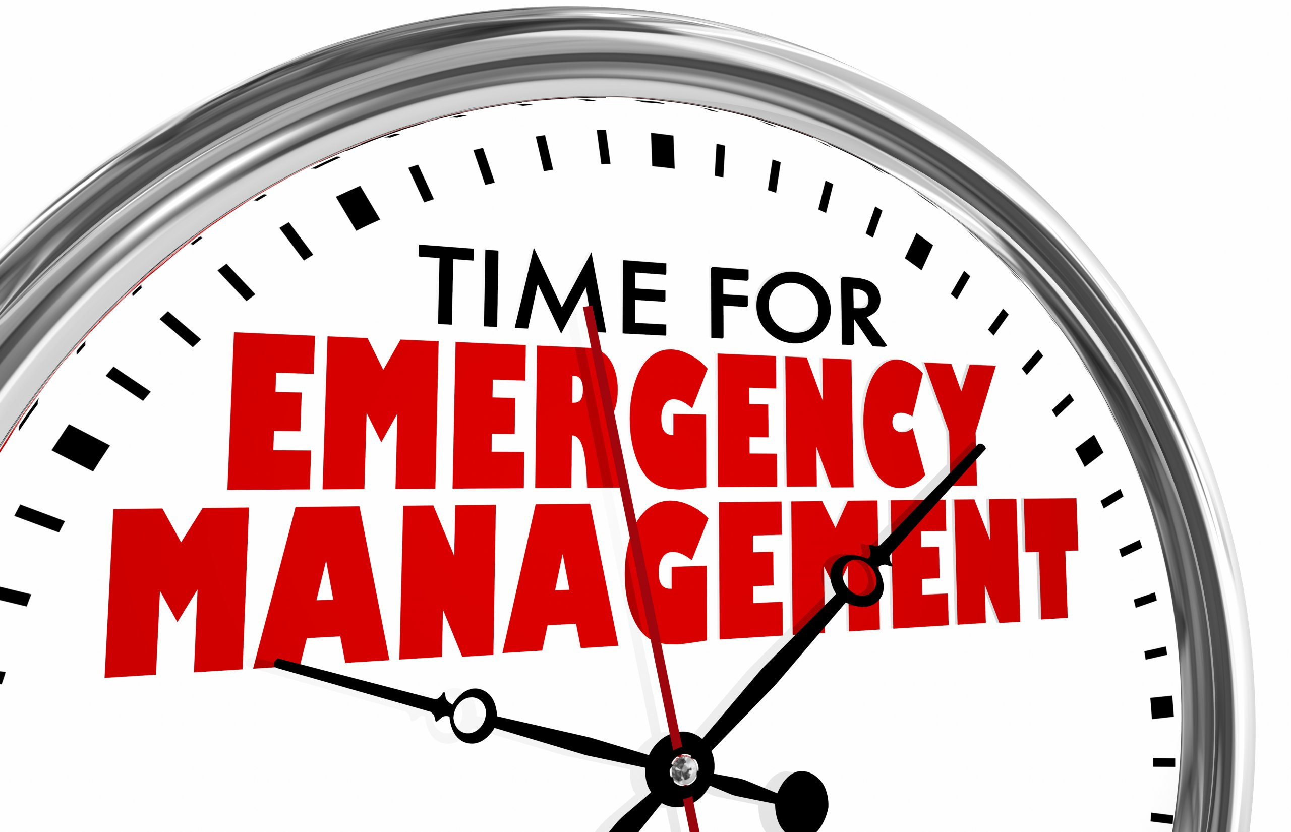 Emergency managers make EVIDENCE-based decisions