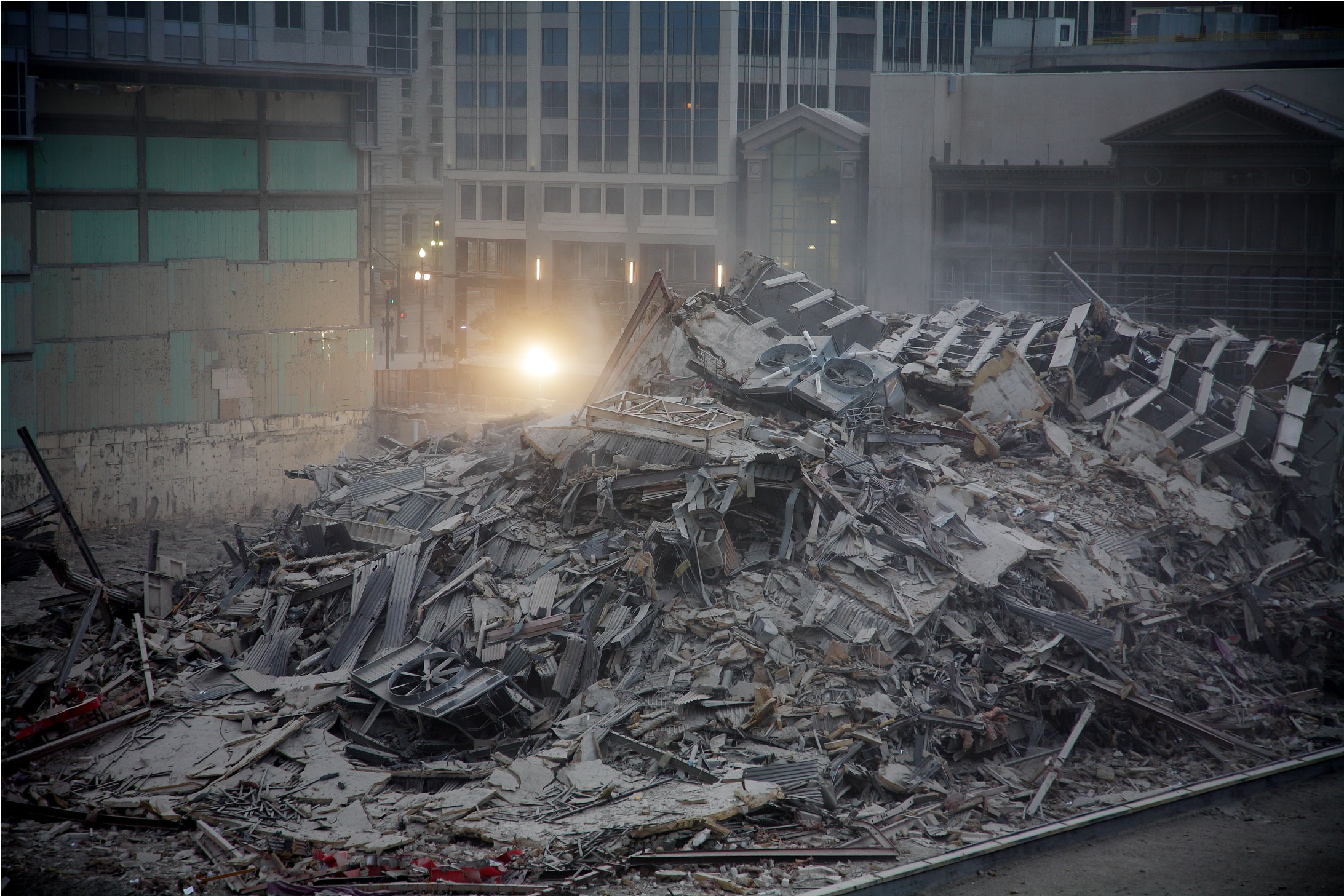 When Buildings Collapse